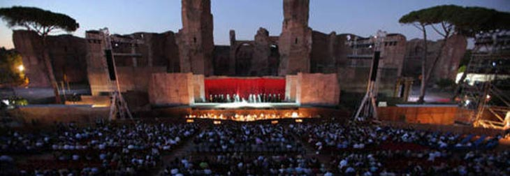 Estate Romana 2016 alle Terme di Caracalla