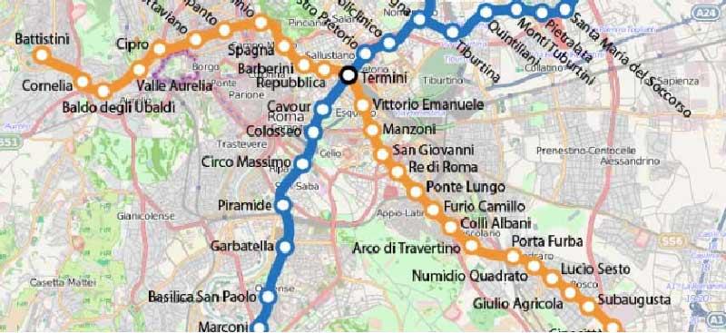 Autobus, mezzi, bus 1 maggio Roma