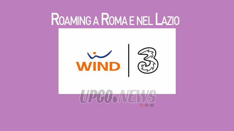 Roaming Nazionale Wind Roma