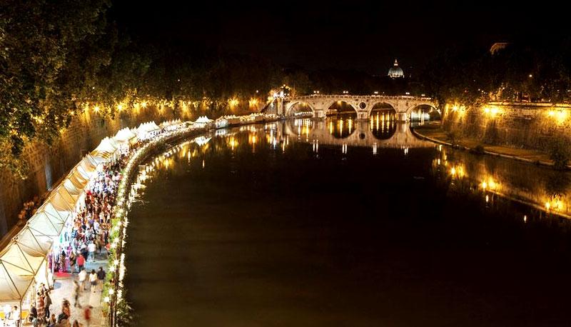 Lungo il Tevere di Roma