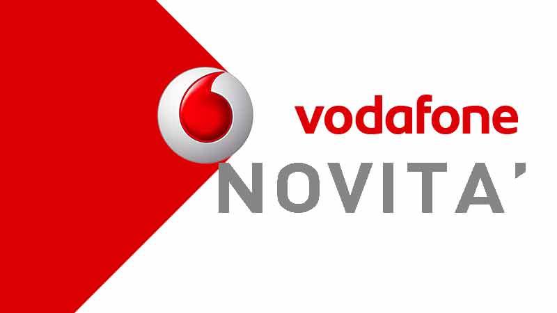 Novità Vodafone