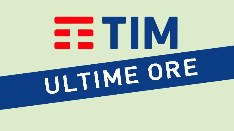 TIM Offerte ultime ore