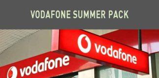 Vodafone Summer Pack offerte e promozioni