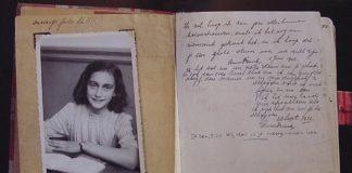 diario anna frank, calcio vs adesivi antisemiti