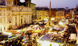 mercatino natale piazza navona